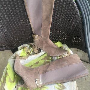 Knee Suede Boots
